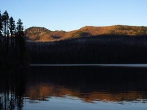Sunrise at Marion Lake.